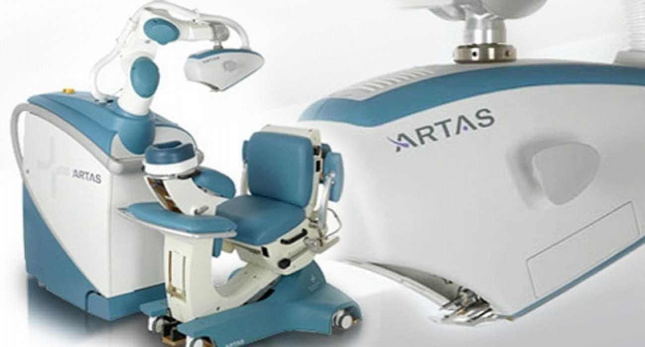 زراعة الشعر بالروبوت أرتاس ARTAS